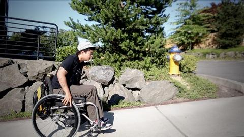 Finding America -- Paralyzed But Still Moving