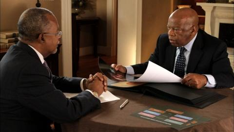 Finding Your Roots -- S1 Ep1: John Lewis and Cory Booker