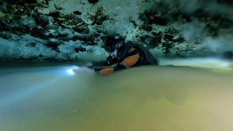 Forces of Nature -- Diving Through a Halocline