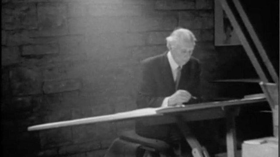 Frank Lloyd Wright: Phillip Johnson image
