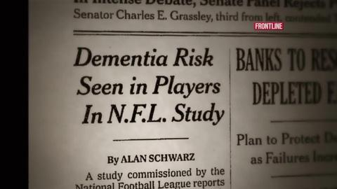FRONTLINE -- S32 Ep2: In Damage Control, NFL Shied From Its Own Brain Res