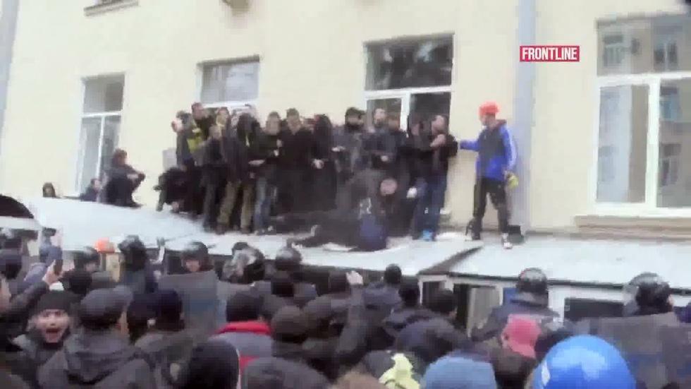 Riot in Kharkiv image