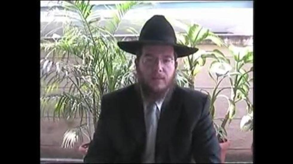 Gavriel Holtzberg Thanks Chabad House Donors image