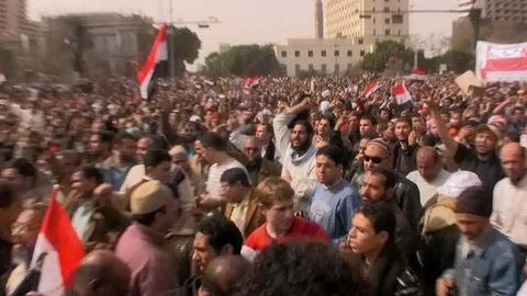 "FRONTLINE -- FRONTLINE Special Report: ""Revolution in Cairo"" Preview"