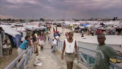 FRONTLINE -- Battle for Haiti
