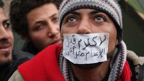 FRONTLINE -- Revolution in Cairo