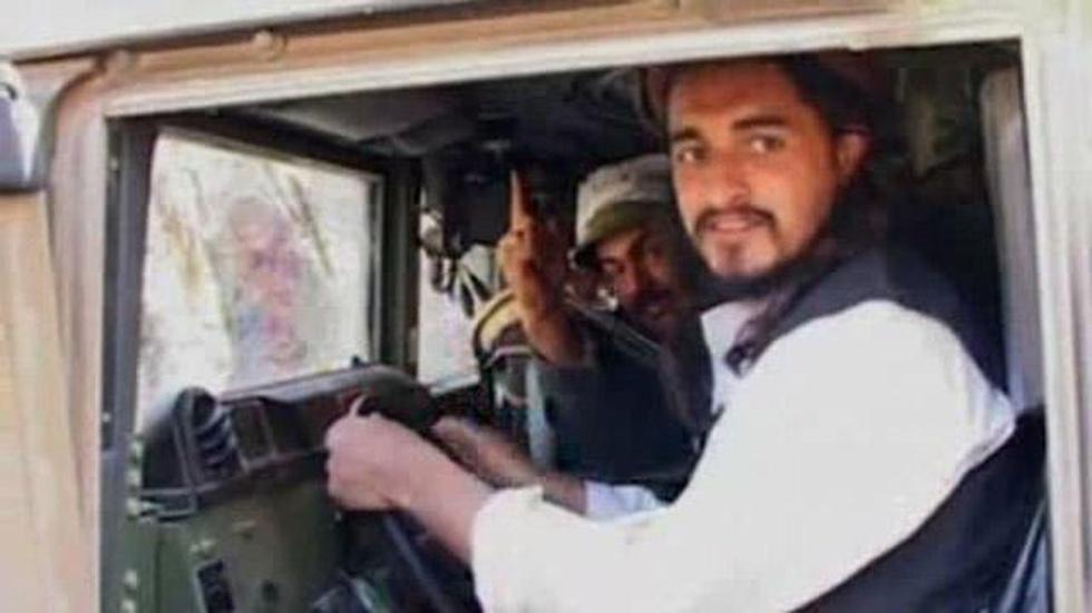 Rare Footage of a Pakistani Taliban Leader image