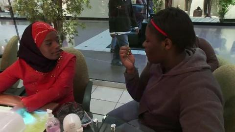 """FRONTLINE -- S30 Ep6: """"The Interrupters"""": Ameena and Caprysha"""
