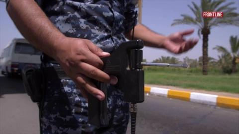 """FRONTLINE -- S32 Ep15: Iraq's $85 Million """"Security"""" Wands"""