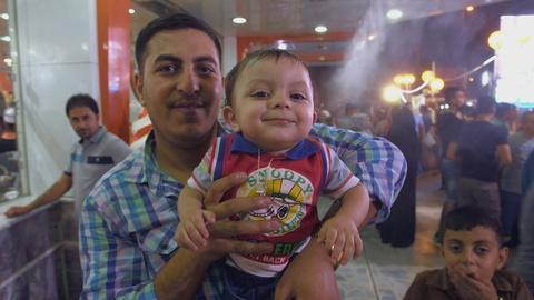 FRONTLINE -- Life in Baghdad