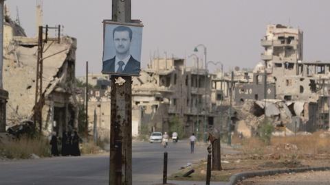 FRONTLINE -- Inside Assad's Syria