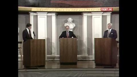FRONTLINE -- S31 Ep1: Mitt Romney Debates Ted Kennedy