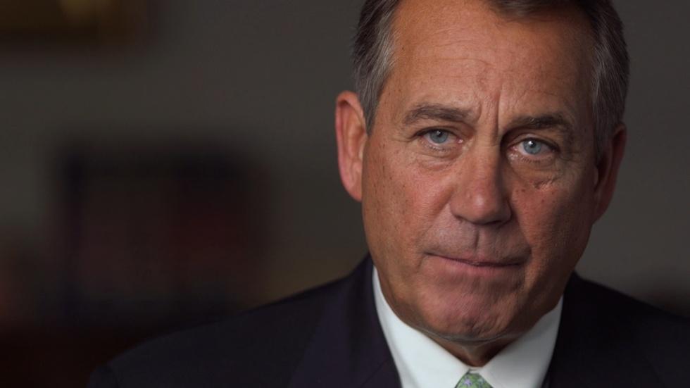 The FRONTLINE Interview: John Boehner image