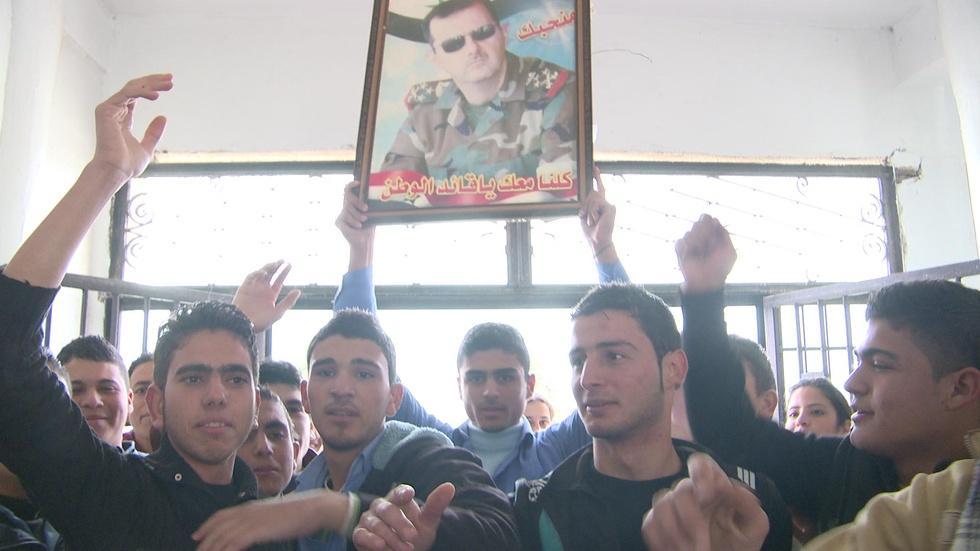 """""""God, Syria, Bashar and Nothing Else"""" image"""