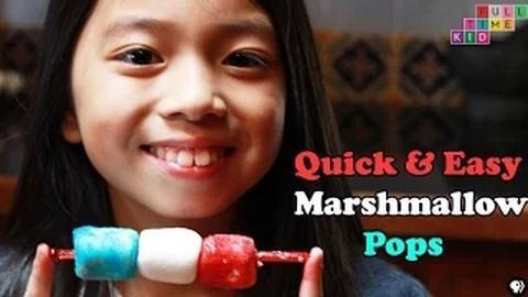 Full-Time Kid -- Easy Marshmallow Recipe