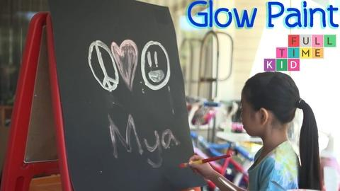 Full-Time Kid -- Glow in the Dark Paint