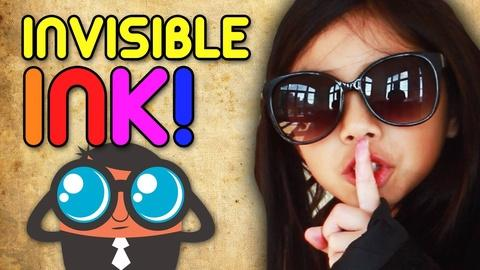 Full-Time Kid -- How to Make Invisible Ink