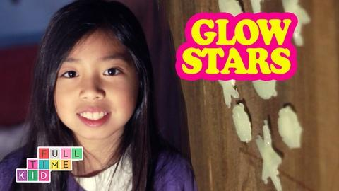 Full-Time Kid -- DIY Glow-in-the-Dark Wall Decals