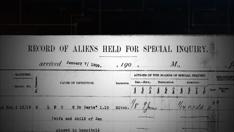 Ellis Island Detention Lists and Records