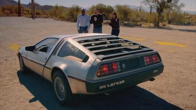 DeLorean Arrives