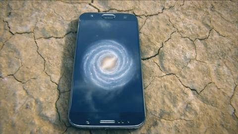 Genius by Stephen Hawking -- Smartphone and Tablet Models of the Galaxies