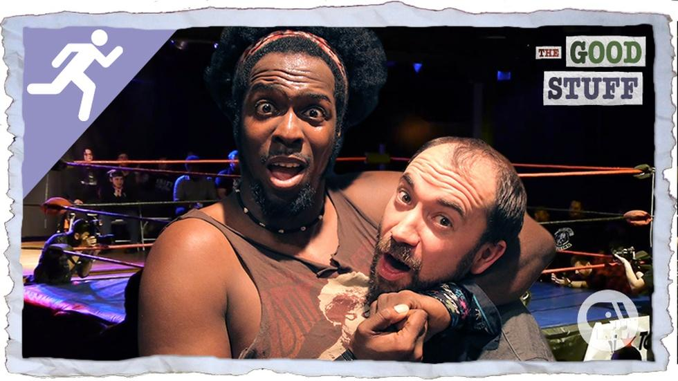 What Does it Take to be a Professional Wrestler? image