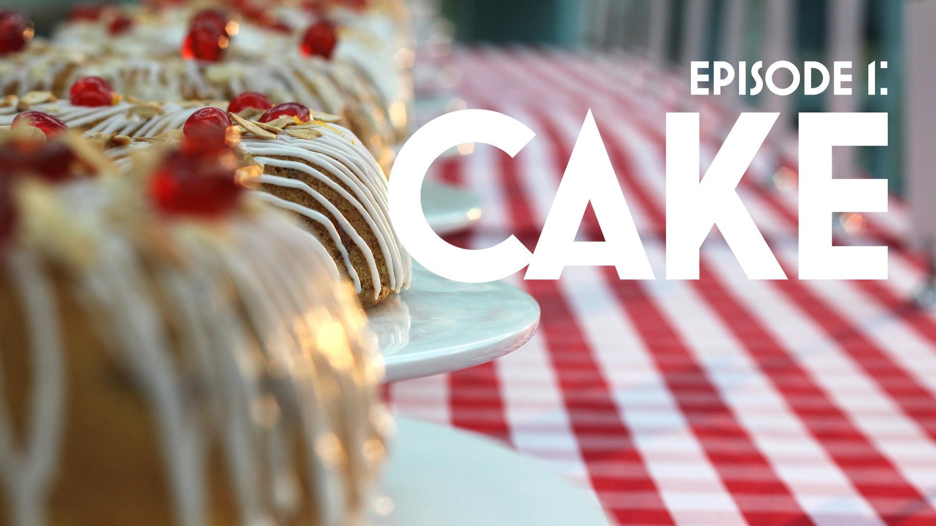Cherry Cake British Baking Episode
