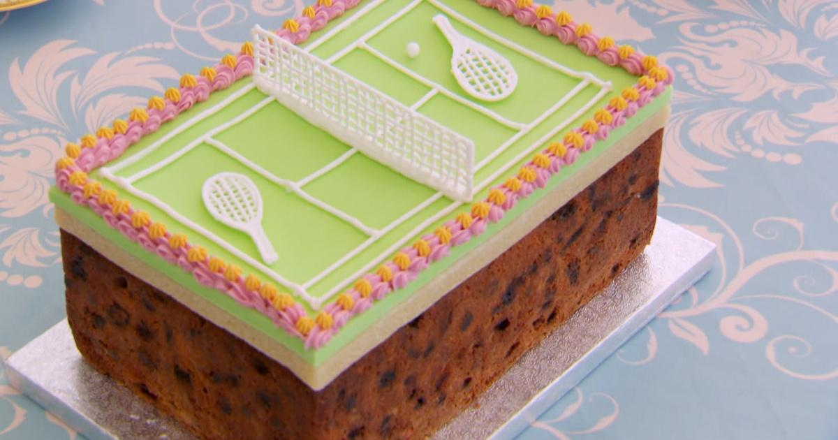 The Great British Baking Show How To Make A Tennis Cake Season 3 Pbs