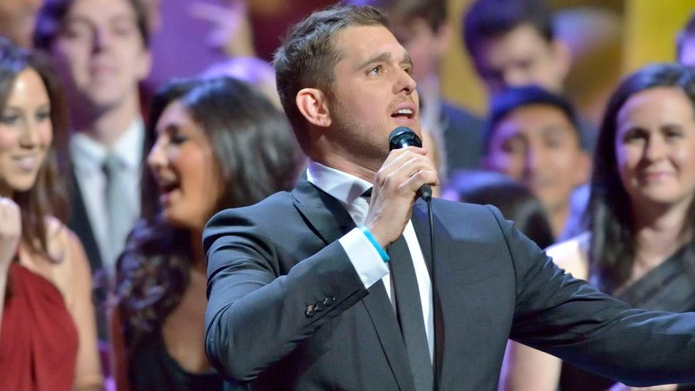 """Michael Bublé Sings """"That's All"""" image"""