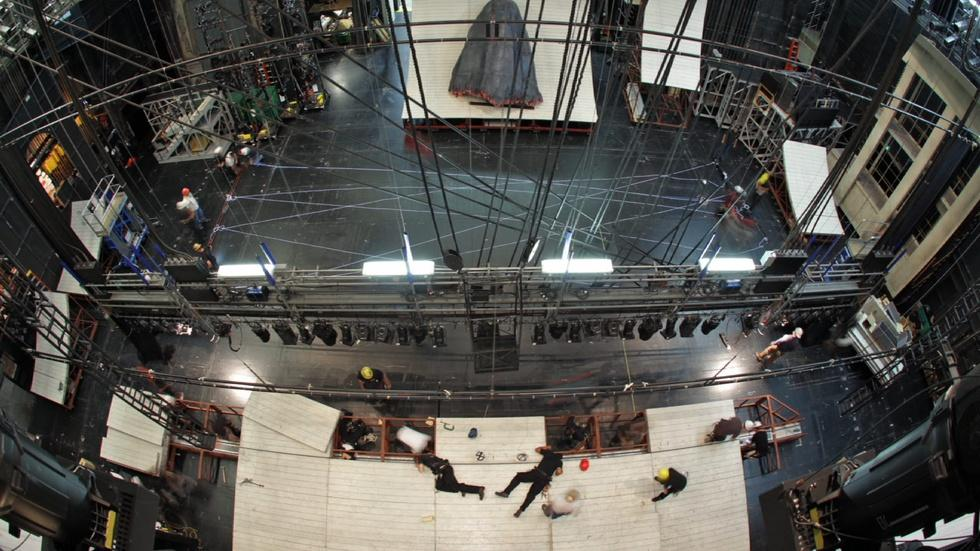 Moby-Dick: 24-hour Timelapse on Stage  image