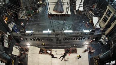 Moby-Dick: 24-hour Timelapse on Stage