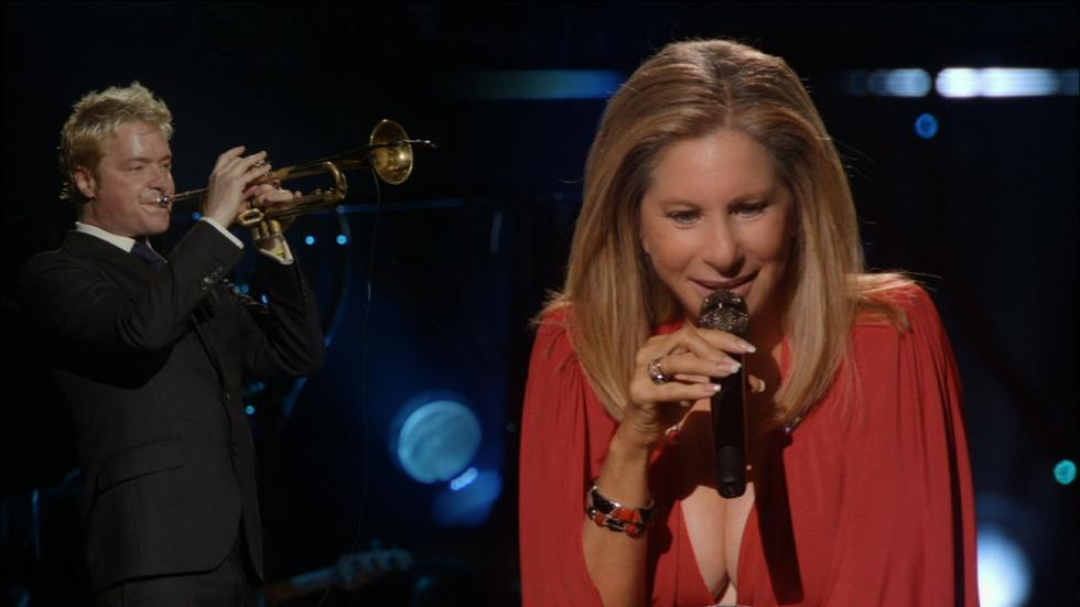 "Barbra Streisand and Chris Botti: ""Evergreen"" image"