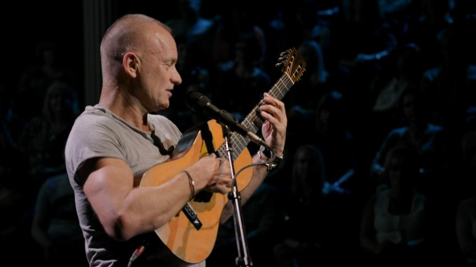 "Sting Performs ""The Last Ship"" Live at the Public Theater image"
