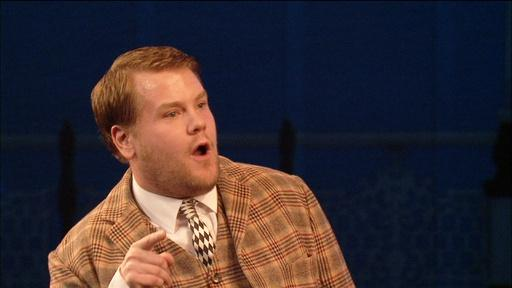 "James Corden in ""One Man, Two Guvnors"""