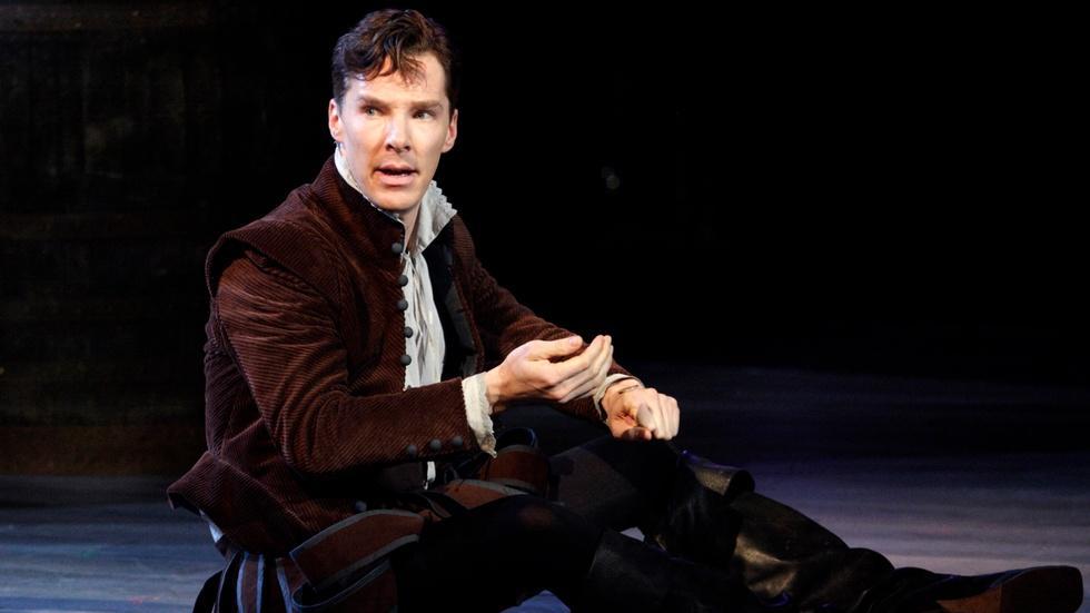 Benedict Cumberbatch as Rosencrantz in Tom Stoppard Play image