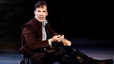 Benedict Cumberbatch as Rosencrantz in Tom Stoppard Play