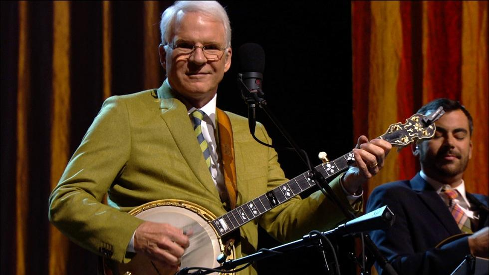 "Steve Martin Live: ""The Crow,"" From His Grammy-winning Album image"