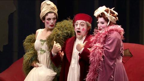 Alessandro Corbelli in Rossini's La Cenerentola