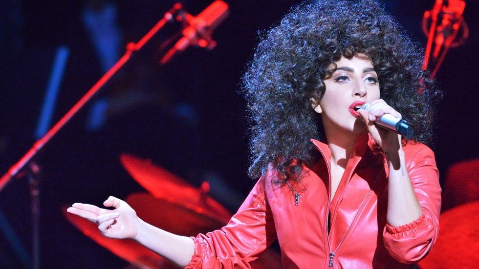 """Lady Gaga Sings """"Bang Bang (My Baby Shot Me Down)"""" image"""