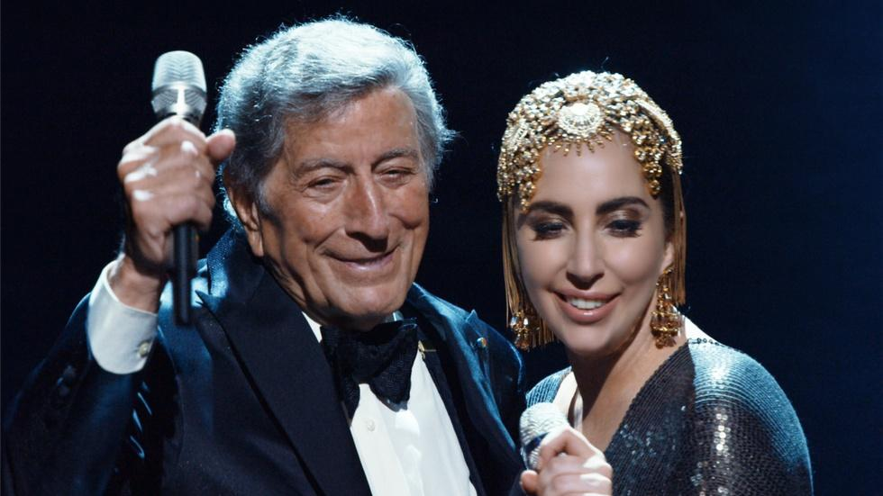 "Tony Bennett and Lady Gaga Sing and Dance ""Cheek to Cheek"" image"