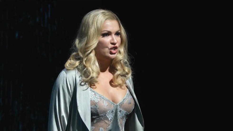 Anna Netrebko as Lady Macbeth in GP at the Met: Macbeth image