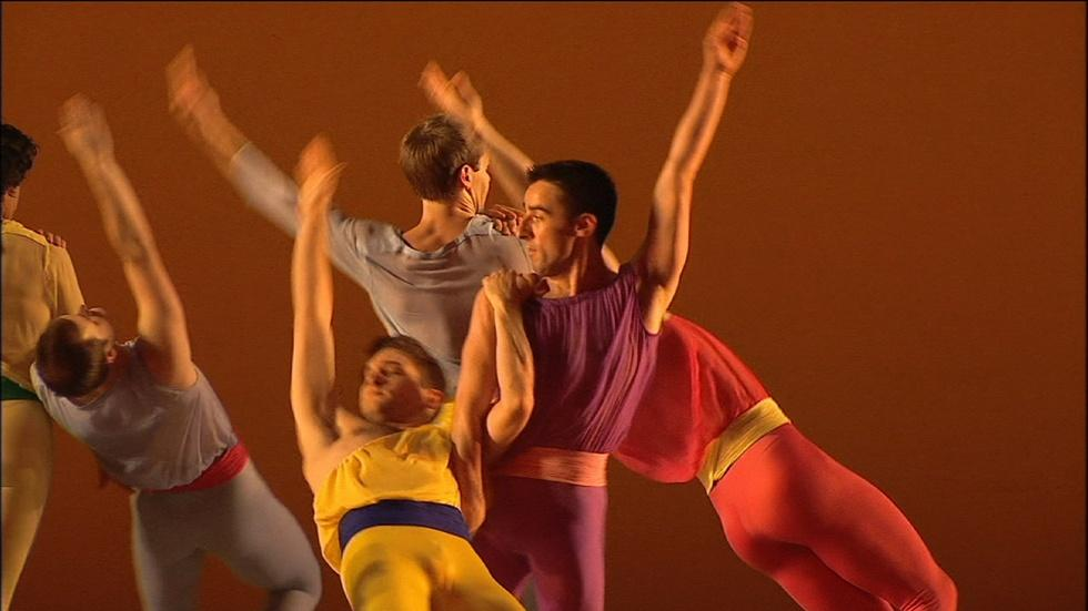 """Mark Morris Dance Group: L'Allegro, """"The Stupid Men's Dance"""" image"""
