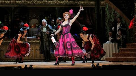 Great Performances -- S9: GP at the Met: Kelli O'Hara and Chorus in The Merry Wido