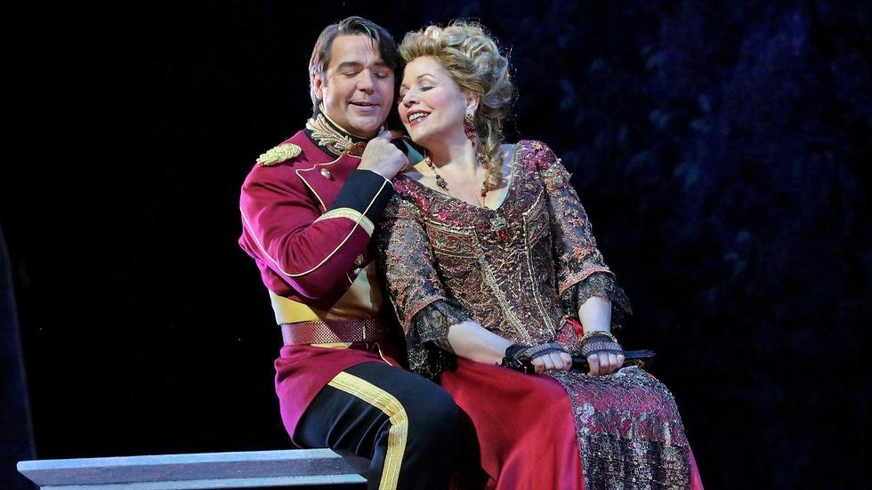 GP at the Met: The Merry Widow - Renée Fleming & Nathan Gunn image