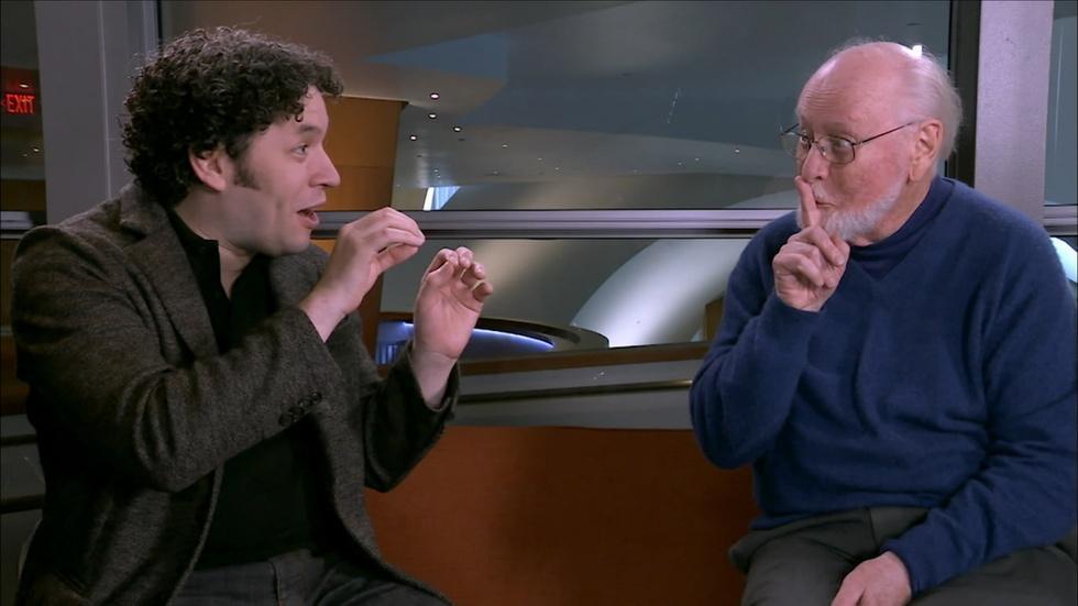 John Williams and Gustavo Dudamel Discuss Film Score image