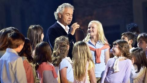 Great Performances -- S39: Andrea Bocelli: Cinema - Song from Life is Beautiful