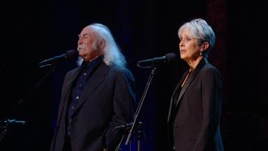 Joan Baez and David Crosby Sing 'Blackbird'
