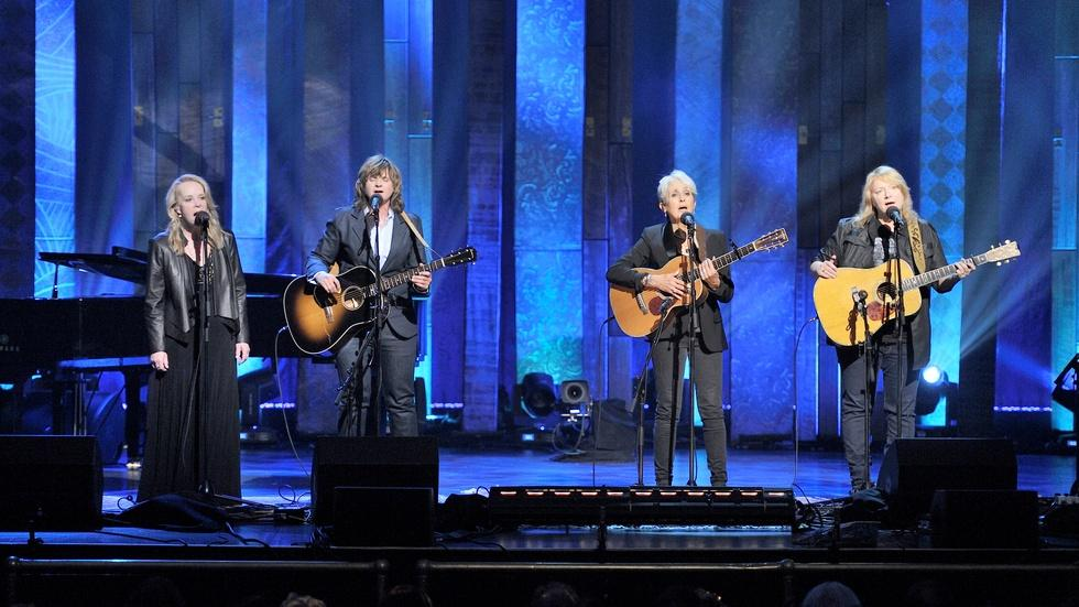 Joan Baez with Indigo Girls and Mary Chapin Carpenter image