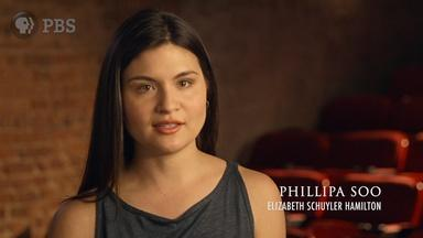 Phillipa Soo on Eliza Schuyler