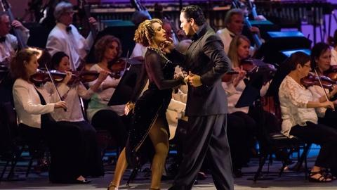 Great Performances -- Dudamel Conducts Tangos Under the Stars with the LA Phil